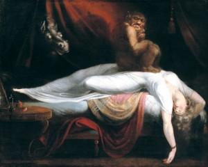 Le cauchemar de Füssli : romantisme noir, art fantastique