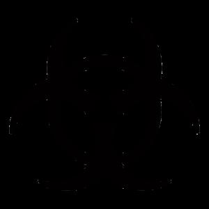 symbole risque de contamination