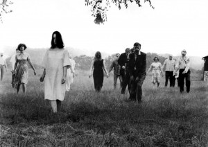 La Nuit des morts-vivants George Romero zombies